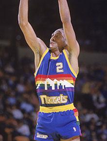 the latest 8223b abfda New Denver Nuggets uniforms, color schemes channel team's ...
