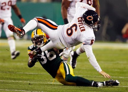 Bears Packers Football